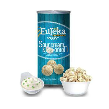 Eureka Sour Cream with Onion Popcorn Snack (Paper Can)