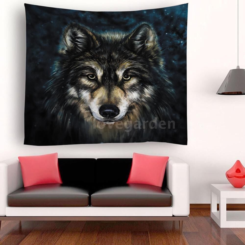 Home Decor - Tapestry Wall Hanging Scenery Tapestries Seaside Sun SET Forest Tapestry Wall Decoration for - I / H / G / F / E / D / C / B / A