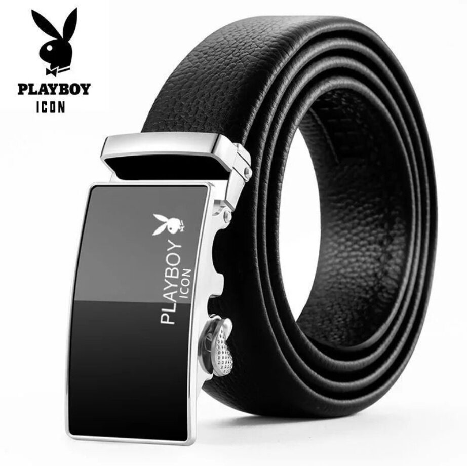[Ready Stock Malaysia] New PB Men Belt Autolock Business Office Men Belt Casual Men Belt