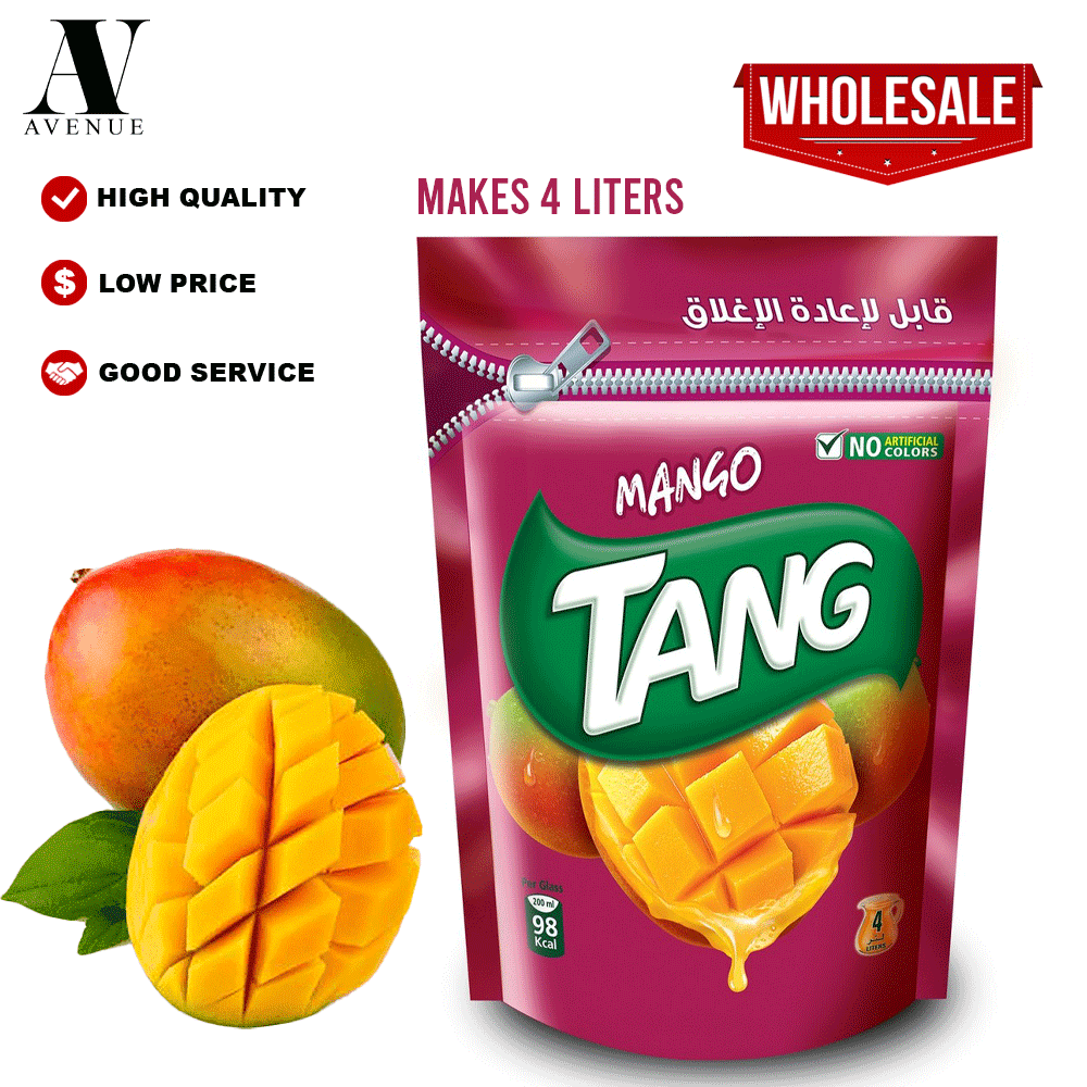 Tang Mango Powder 500g ( MAKES 4 LITERS ) تانج مسحوق عصير سريع الذوبان