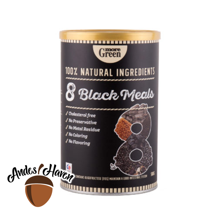 【More Green】8 Black Meals