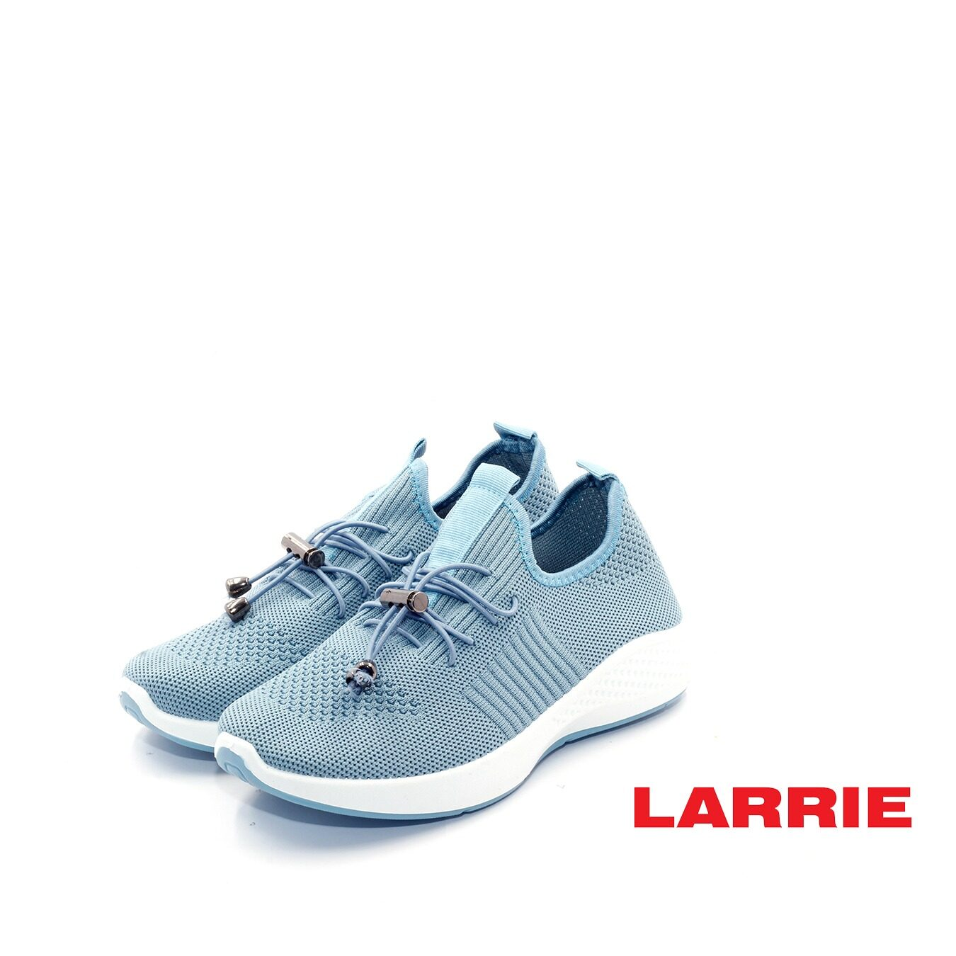 LARRIE Kasut Perempuan Lace Up Fit Lightweight Cushioned Sneakers (L62016-TF01SV)