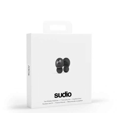 100% Original SUDIO TOLV In-Ear Wireless Earbuds - BLUE, WHITE, GREEN, BLACK, PINK