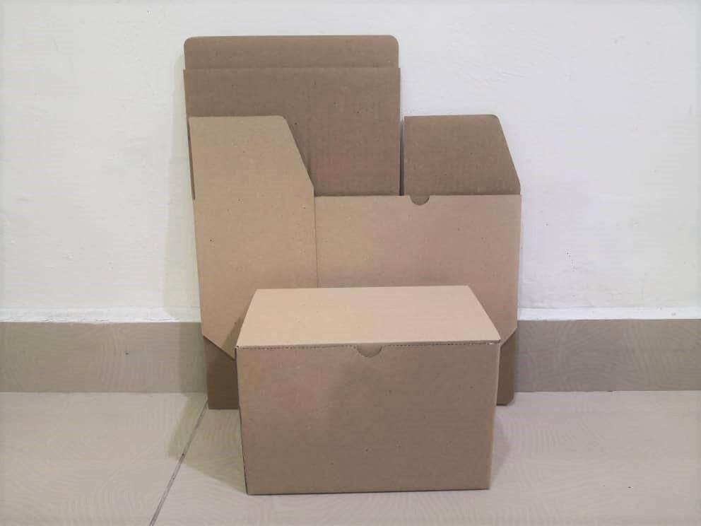 20pcs Plain Die Cut Boxes (L210 X W125 X H140mm)