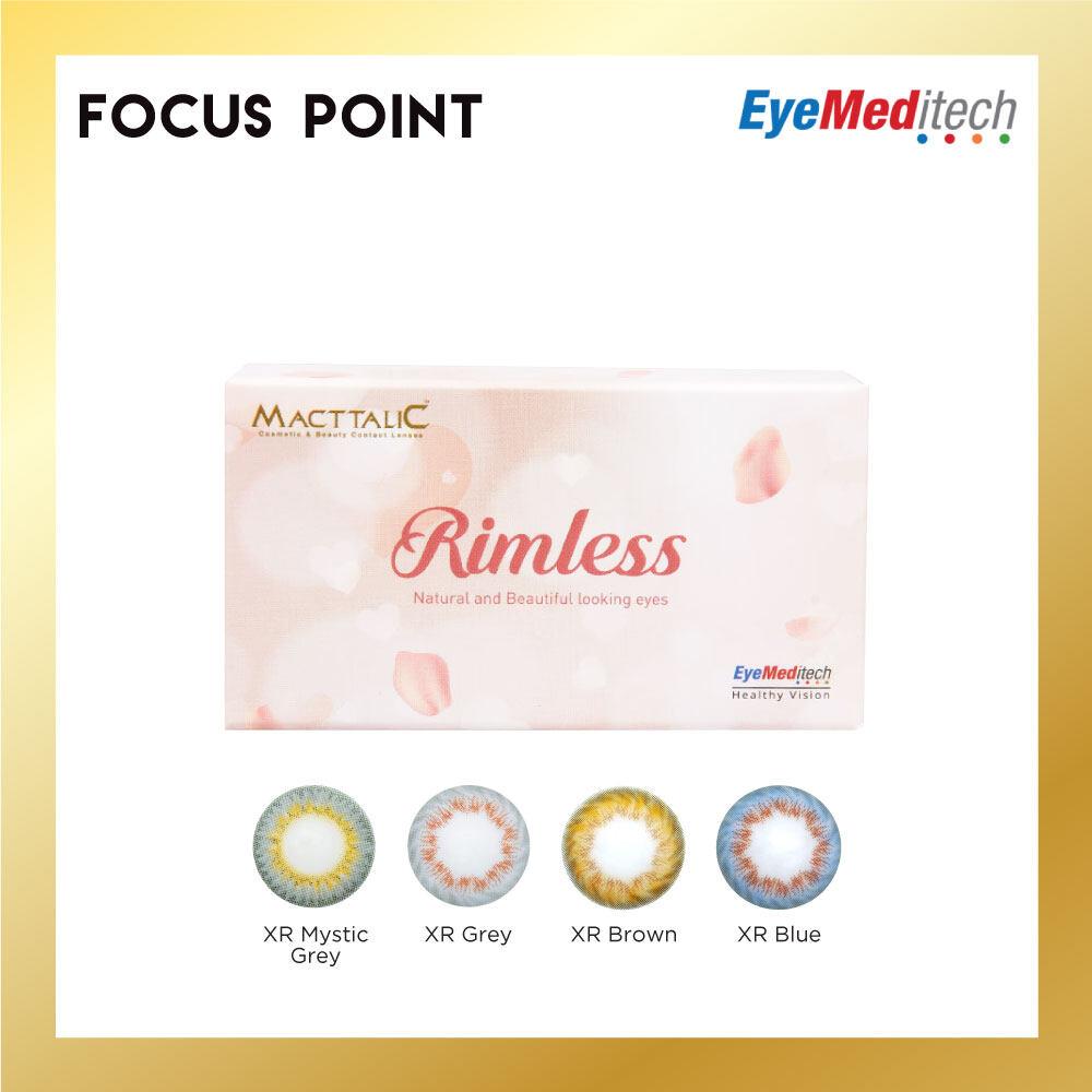 Macttalic Rimless Monthly (2 PCS)