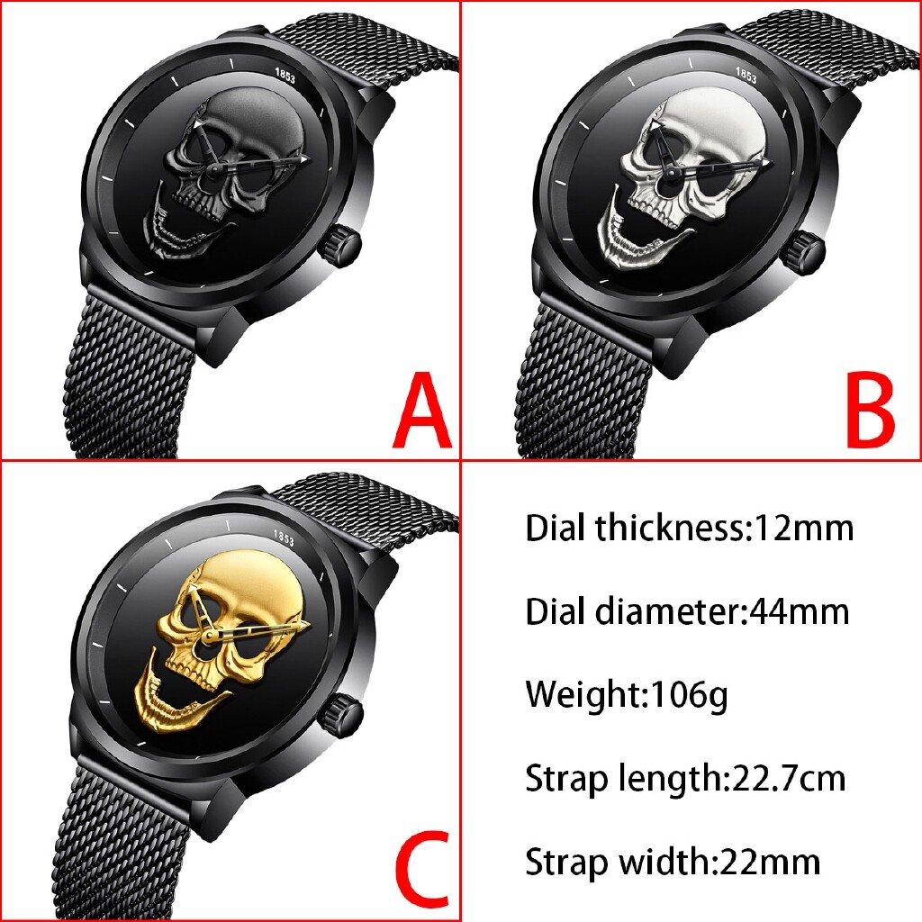 Smart Watch - LIGE Luxury Men's Watches Strap Casual Gifts For Him Waterproof - BLACK / GOLD / SILVER