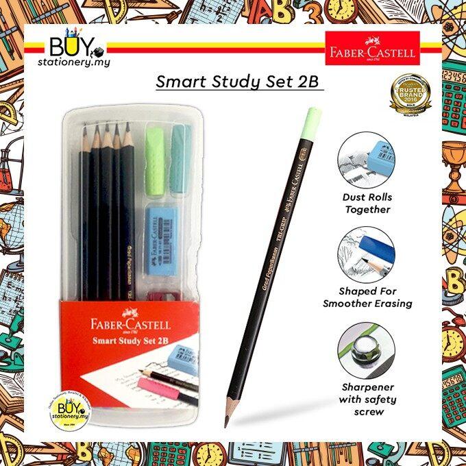 Faber Castell Smart Study Set 2B - (1SET)