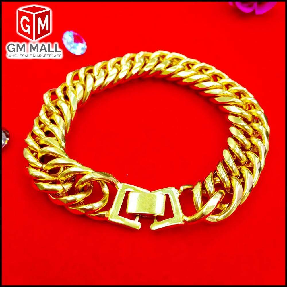 Emas Bangkok Jewellery - Rantai Tangan Gajah Gold (Bracelet EB-2006)