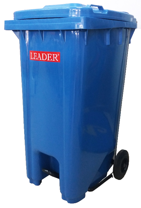 Rivershop 240Liter 2 Wheelie Multi Purpose Mobile Garbage Compost Wastebin Dustbin with Foot Pedal / Tong Sampah Beroda Serbaguna