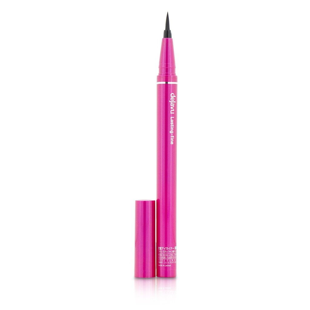 Dejavu Lasting Fine S Brush Liquid Eyeliner - Glossy Brown - Original from Japan (READY STOCK)