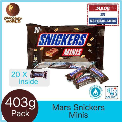 Snickers Minis 20pcs FunPack 403g (Made in Netherlands)