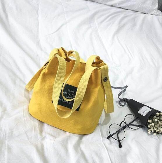 Malaysia - Casual Canva Label Sling Beg Tangan Handbag Bags Sling Shoulder Bag for Women Lady Perempuan Gift Hadiah for Ladies Student Gift Hadiah for Casual Dinner Cantik Girl Raya Korea Japan Ready Stock Travel