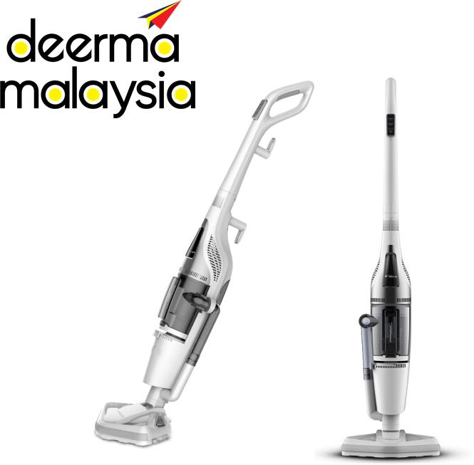 Deerma ZQ990 Steam Mop & Powerful Vacuum Cleaner 2in1 (Wet & Dry)