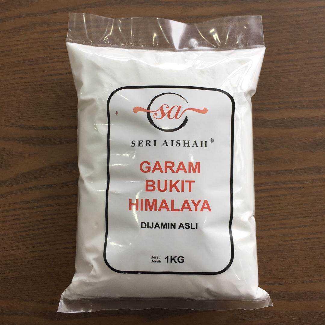 White Himalayan Salt 1KG (eat and scrub)
