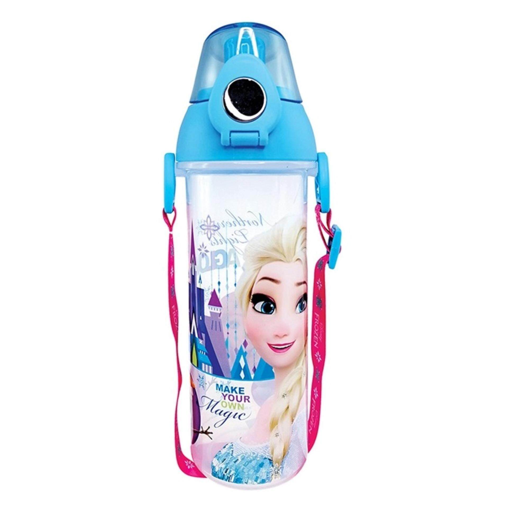 Disney Princess Frozen BPA Free 550ML Water Bottle - Blue Colour