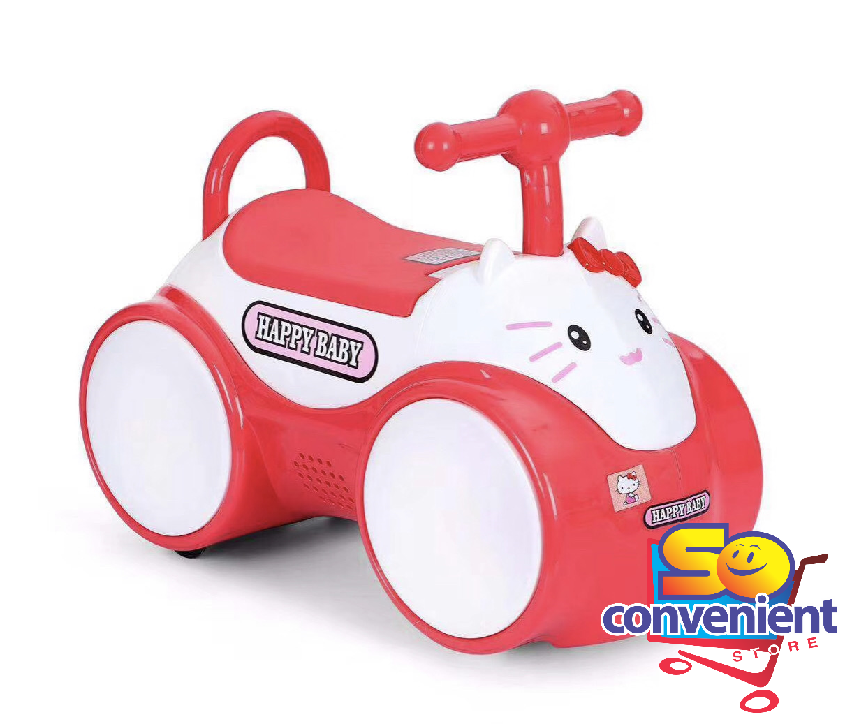 816 Kitty Push Car for Kids