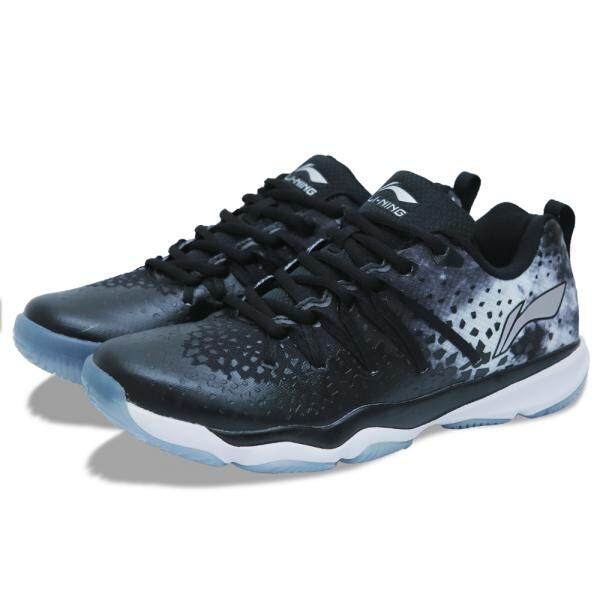 Li-Ning Nebula Badminton Shoes - Black AYTN087-2