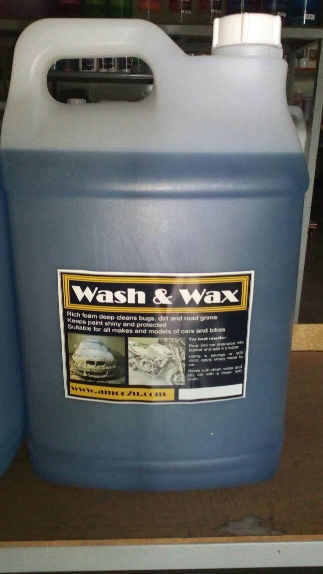 10 Liter Car Wax Shampoo for Car Wash and Auto Detailing Center