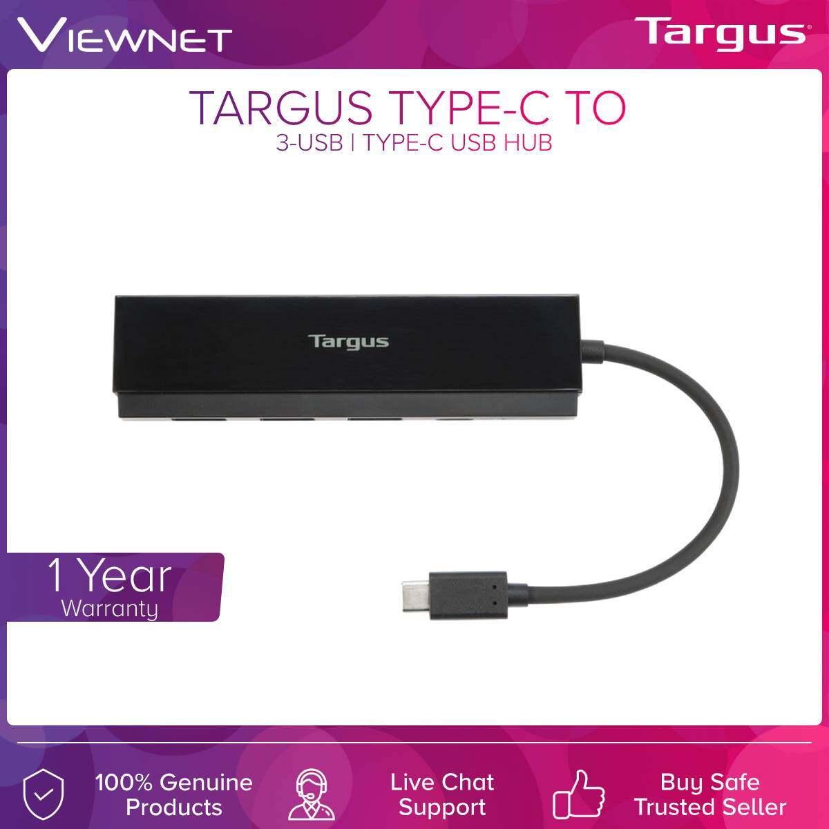 Targus (ACH934AP) Type-c to 3-Usb / Type-c Usb Hub