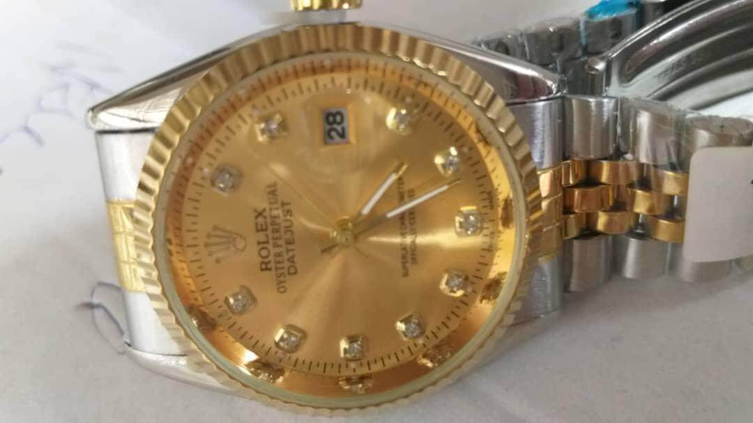 NEW BUSINESS_ROLEX_OYSTER PERPECTUAL DATE JUST FOR MEN WATCH FULL BATTERY