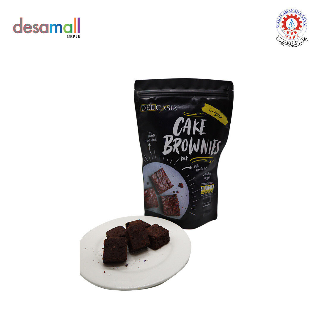 DECALSIS Cake Brownies - Original (300g)
