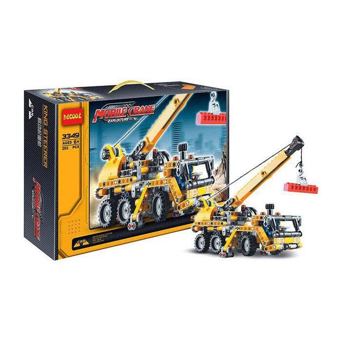 DECOOL 3349 Technic Mobile Crane Building Blocks Set