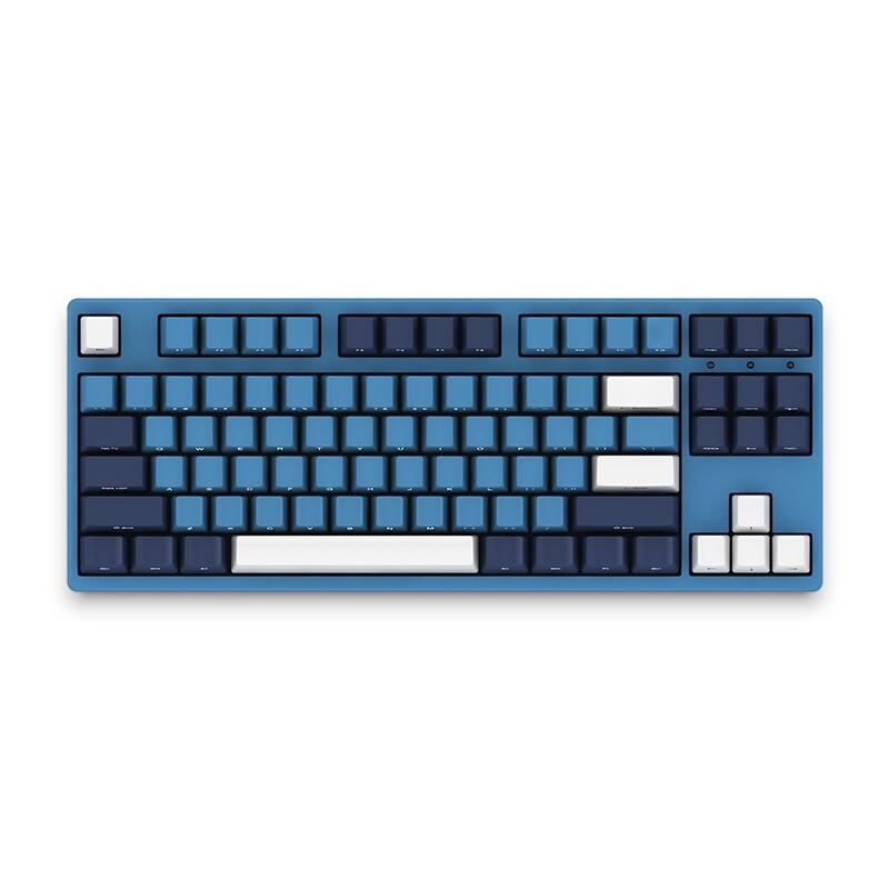 Keyboards - ORIGINAL AKKO 3087SP 87 Key Ocean Star NKRO Wired Cherry MX Switch PBT Type-C - GREEN SWITCH / BROWN SWITCH / RED SWITCH