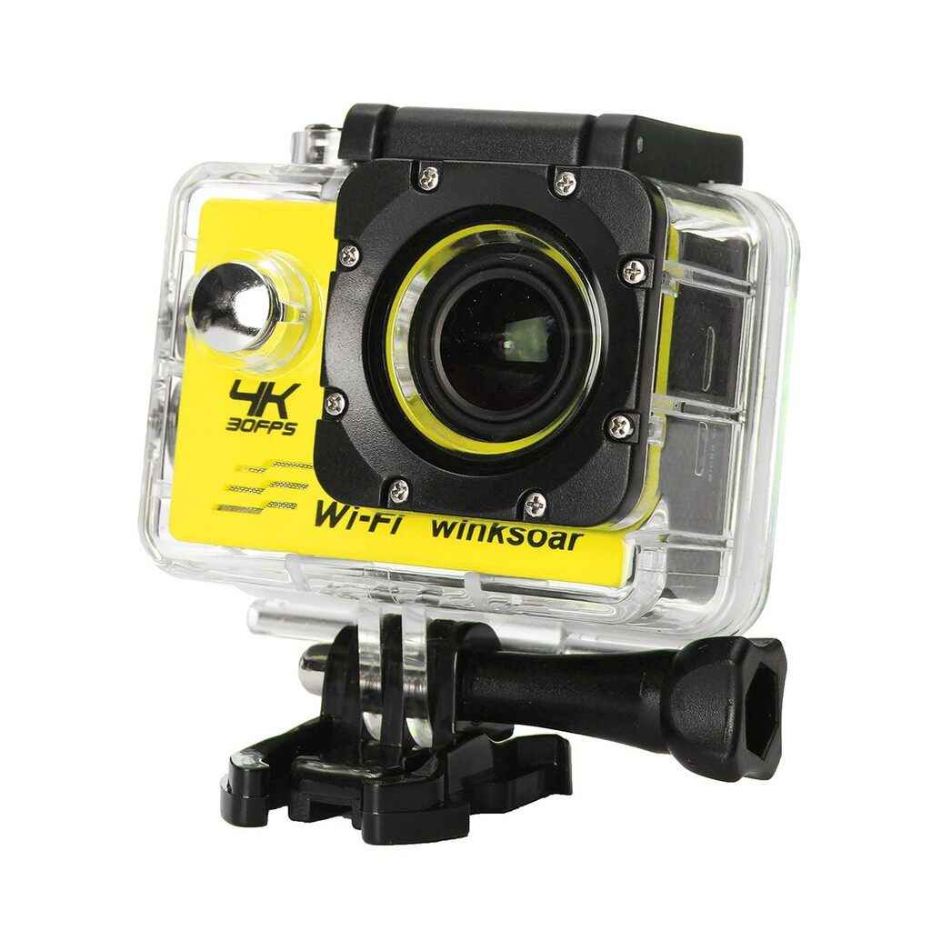 Sports & Action Cameras - SJ9000 1080P 4K Action Sport Camera Waterproof WiFi DV DVR Camcorder Full HD - SILVER / GOLD / BLUE / PINK / YELLOW / WHITE / BLACK