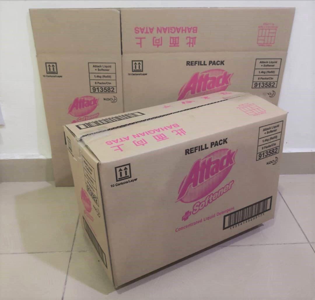 10pcs Printed Carton Boxes (L443 X W223 X H290mm)