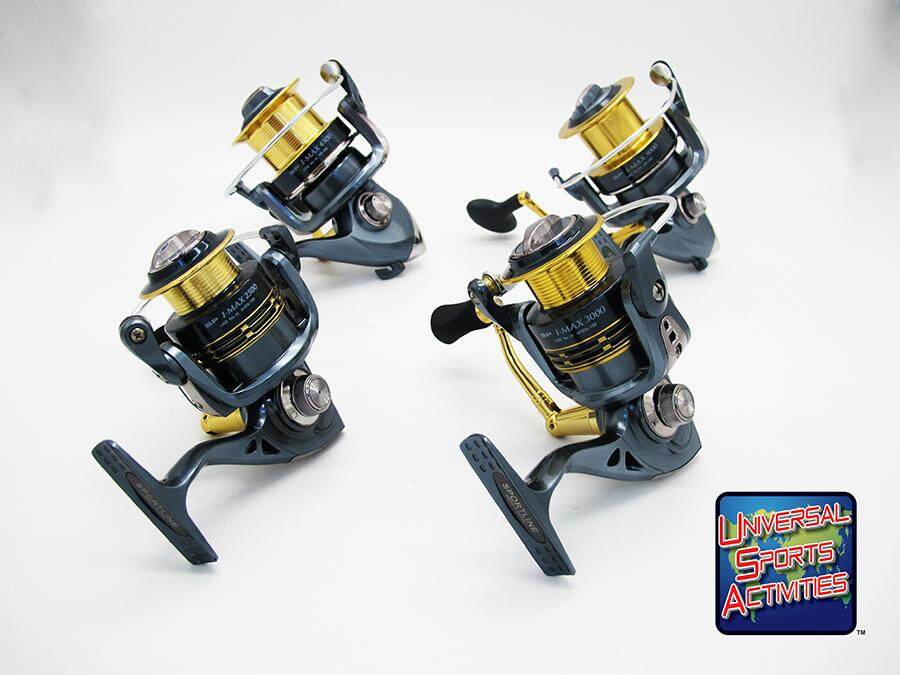Sportline - I-MAX Spinning Reels  Clearance Sales