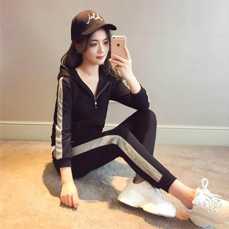 JYS Fashion Korean Style Women Sport Wear Set Collection 328D - 5070