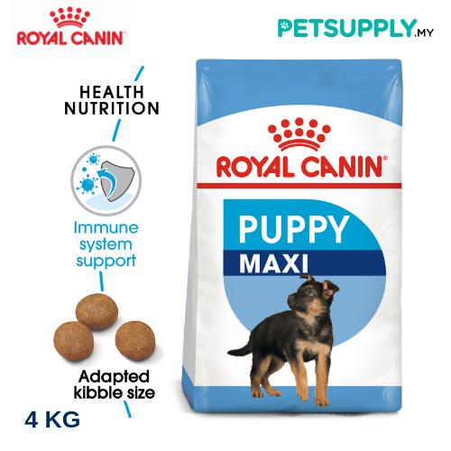 Royal Canin Dry Dog Food Maxi Puppy 4KG [makanan anjing - PETSUPPLY.MY]