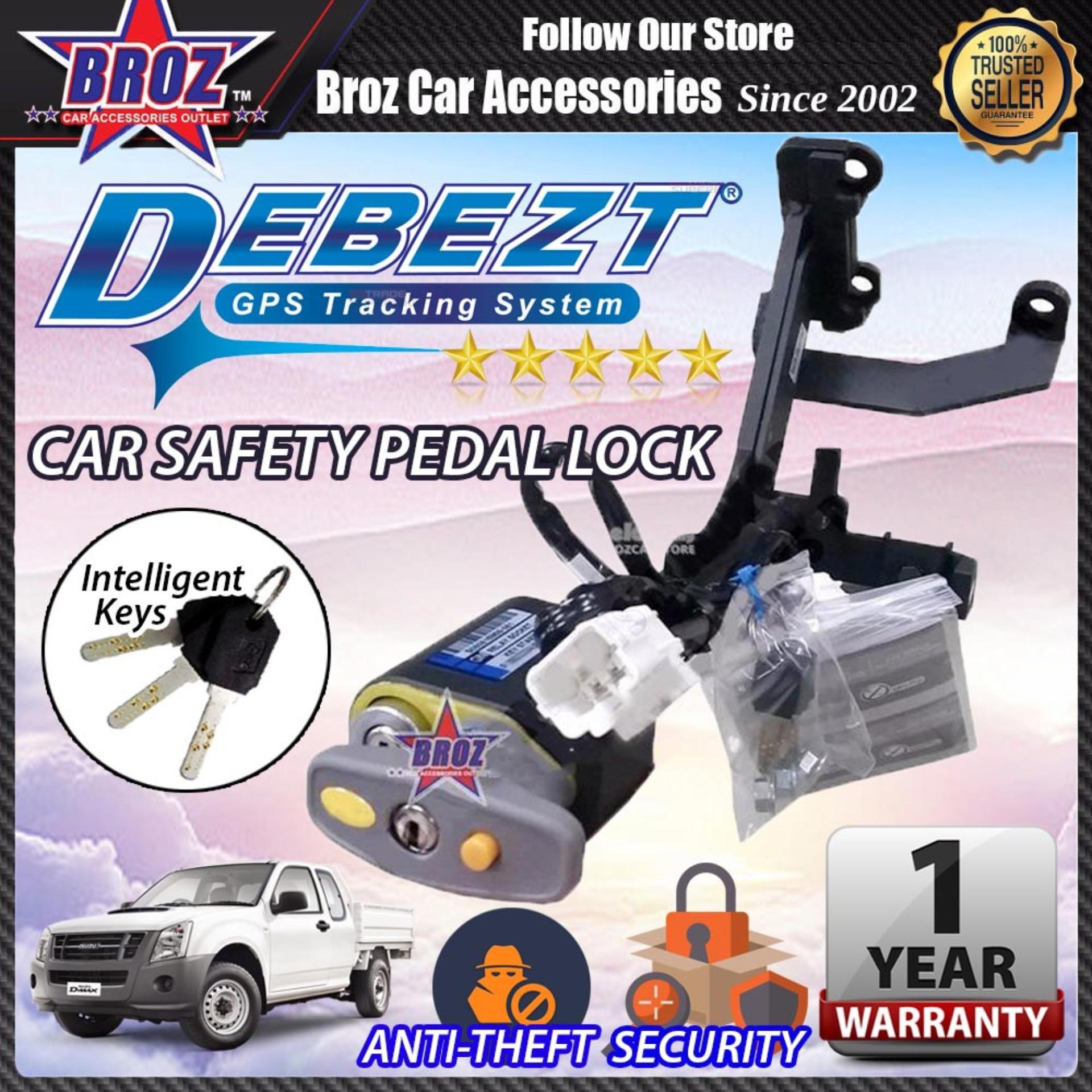 Isuzu D Max 2005-2012 Auto/Manual Key Start Anti Theft Double Pedal Lock
