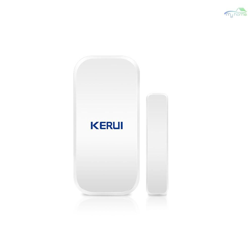 Sensors & Alarms - D025 433MHz WIRELESS Window Door Magnet Sensor Alarm Detector For Home Burglar Security Alarm - WHITE