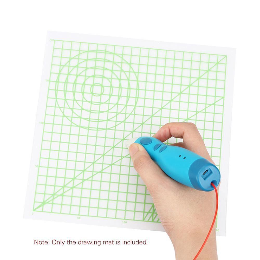 Printers & Projectors - 3D Printing Pen Mat Drawing Board with Multi-shaped Basic Template Art Supplies Tool 3D Pen - #