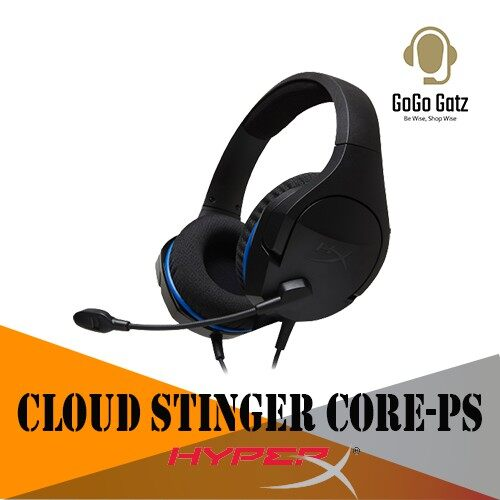 {HX-HSCSC-BK} {Ship Out Within 24 Hours} HyperX Cloud Stinger Core Gaming Headset - Designed for PlayStation®