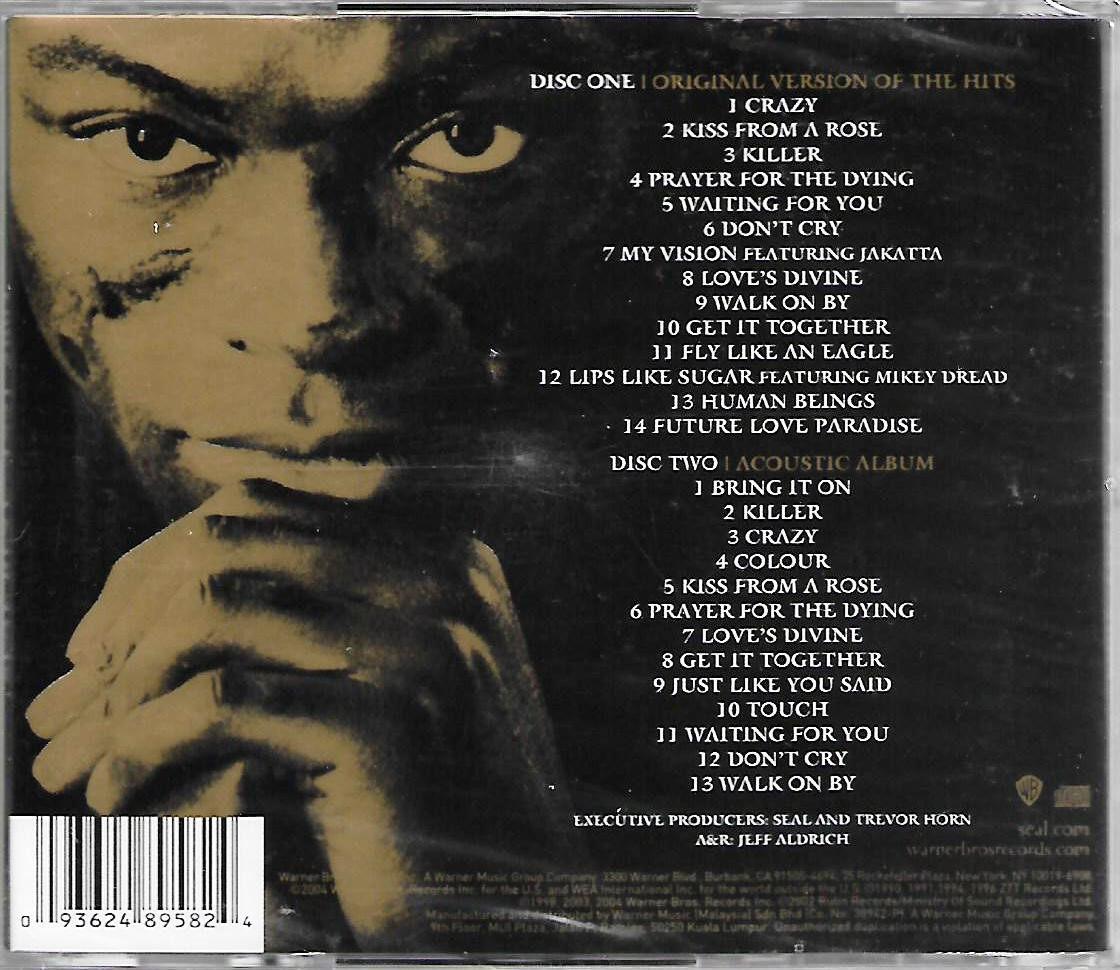 SEAL Best 1991-2004 CD Original Version Of The Hits + Acoustic Album