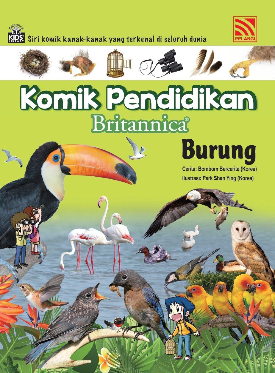 Pelangibooks Komik Pendidikan Britannica - Burung