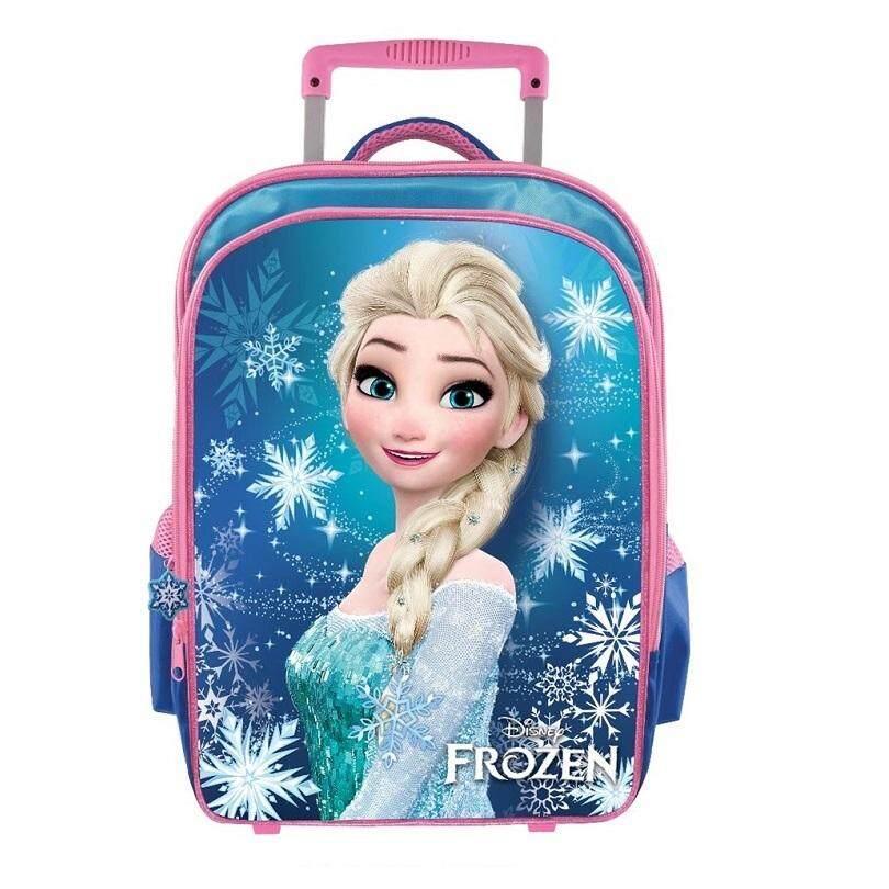 Disney Princess Frozen Pre School Trolley Bag Kindergarten (Elsa)
