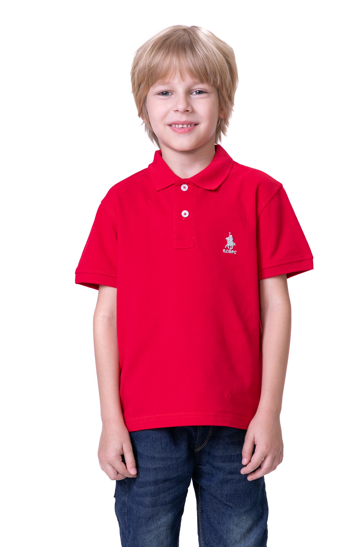 RCB POLO CLUB KIDS POLO TEE SOLIDRBTS10558