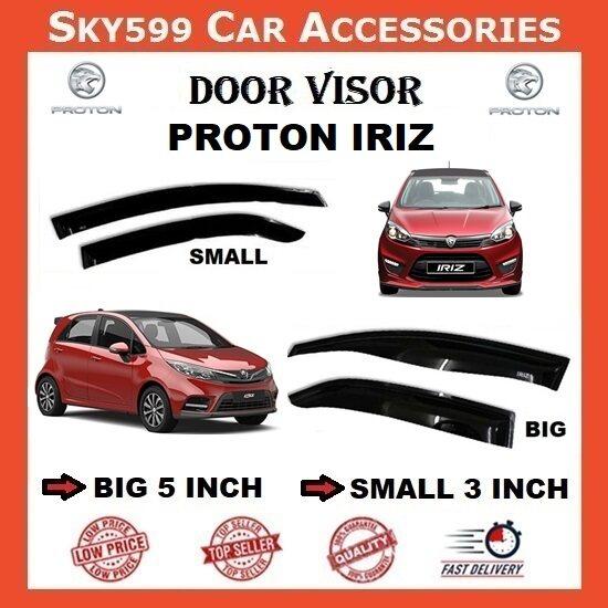 Proton Iriz 3inch Door Visor /air press?1set 4 Door?