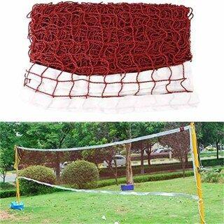 Chất lượng tốt Lưới cầu lông di động tiêu chuẩn bền cho các cuộc thi - Dễ dàng lắp đặt, thích hợp cho sân trong nhà ngoài trời, sân sau, lưới cầu lông cầu lông quả thumbnail