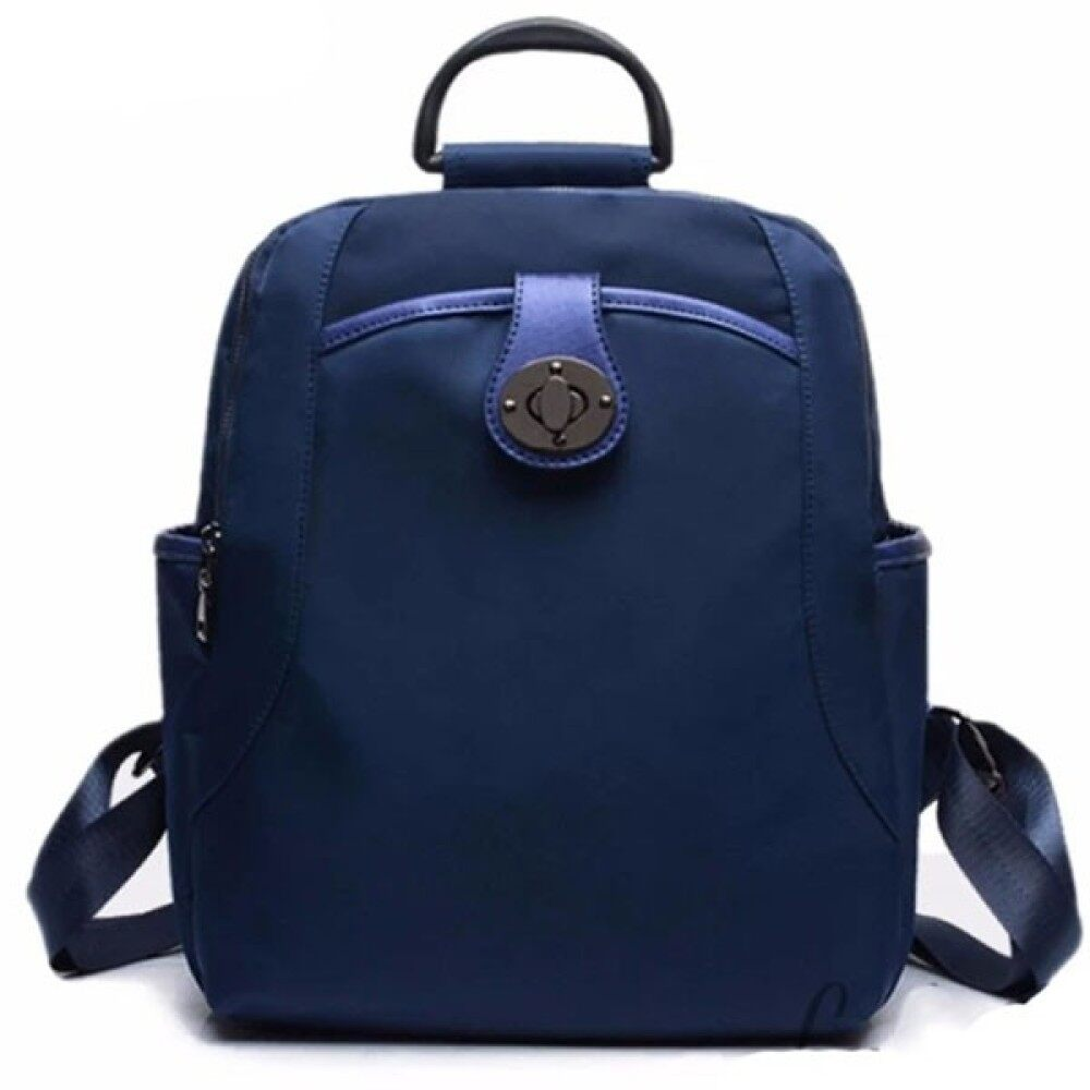 Lulumono New Trend Oxford Knapsack Lady Bag Dark Blue