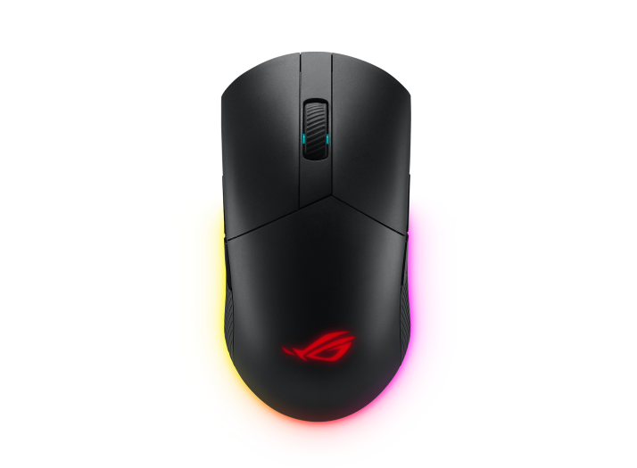 Asus Rog Pugio II (P705) Wireless Bluetooth Gaming Mouse 16000 DPI , Optical Sensor , 7 Programmable Buttons ,  Rgb Lighting