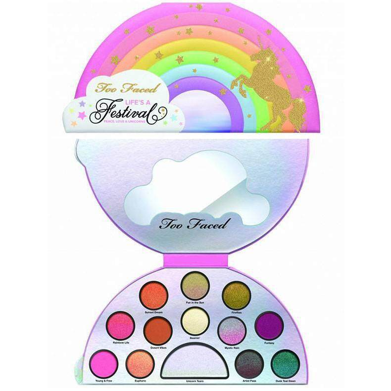 FREE GIFTTOO FACED Life\'s a Festival Eye Shadow Palette