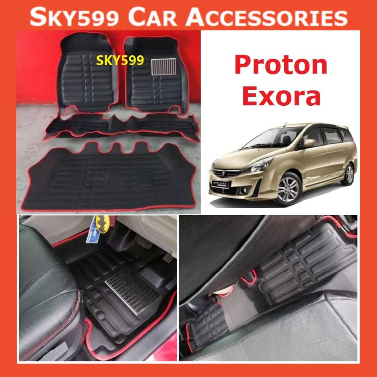 Proton Exora 5D Car Floor Mat/Carpet