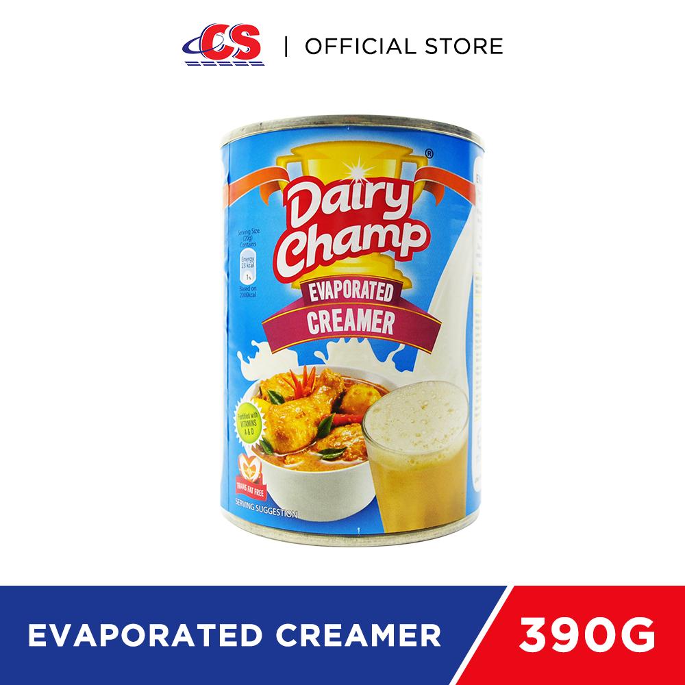 DAIRY CHAMP Evaporated Creamer 390g