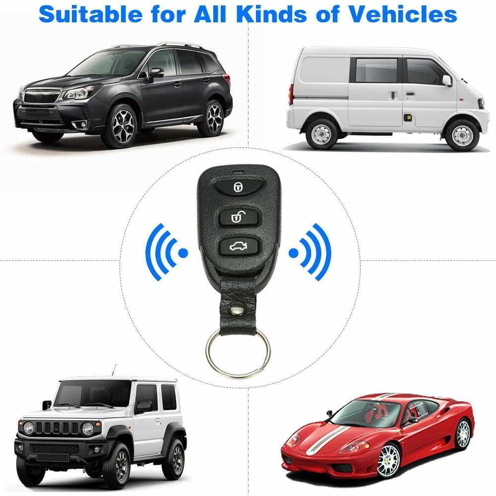 Best Selling Universal Car Door Lock Trunk Release Keyless Entry System Central Locking Kit With Remote Control (1)