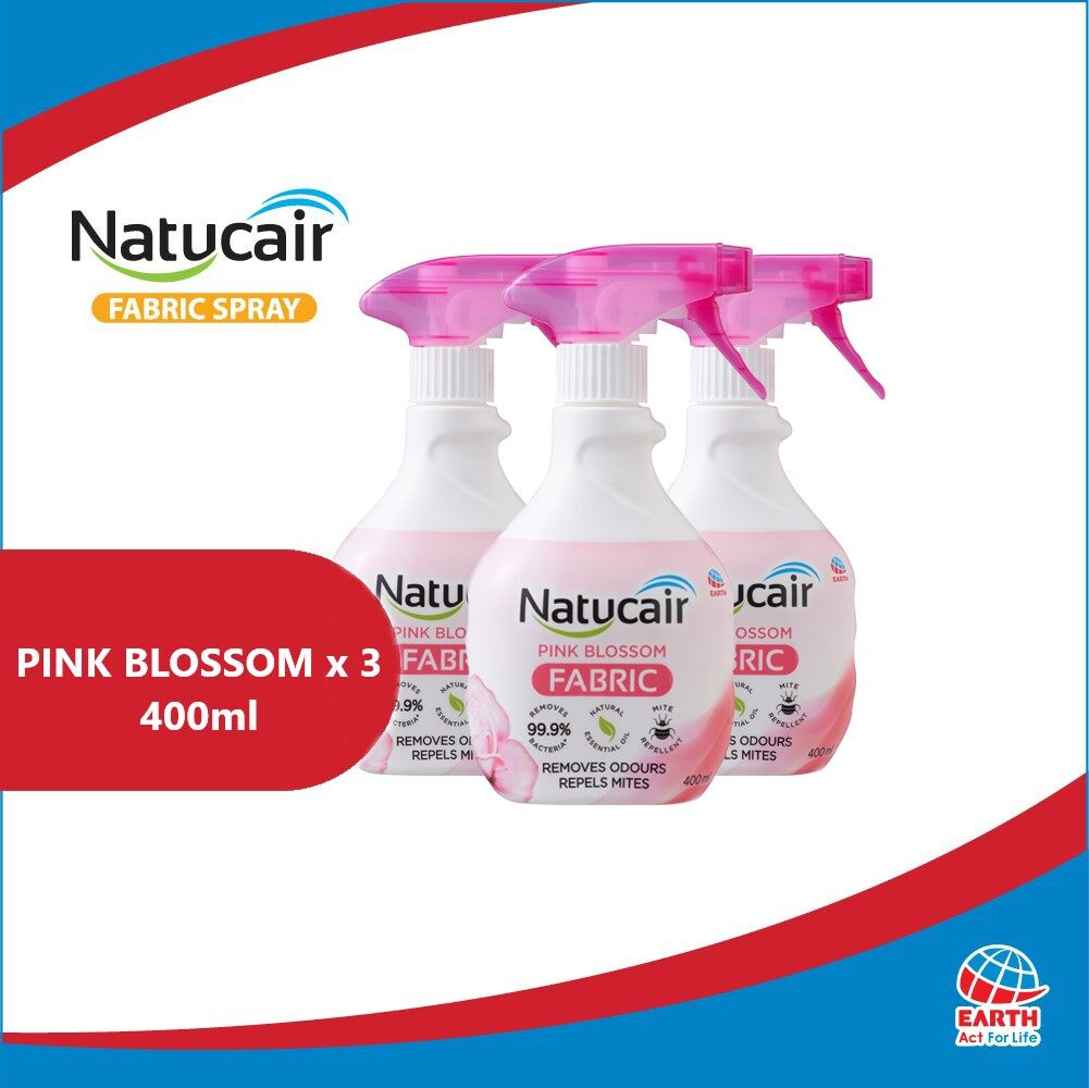 Natucair Fabric Spray Assorted Variants Bundle of 3 [400ml x3]EHB000012b