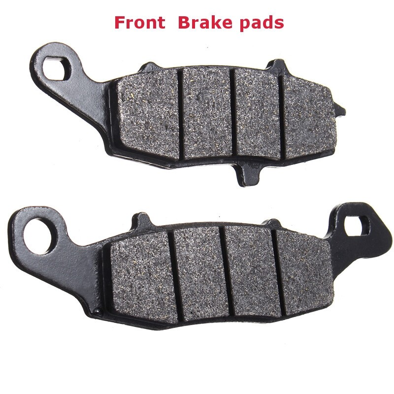 Brake Systems - 4x Front+Rear Brake Pads For Kawasaki Vulcan Classic VN1500D VN1500E 1996-2000 - Car Replacement Parts